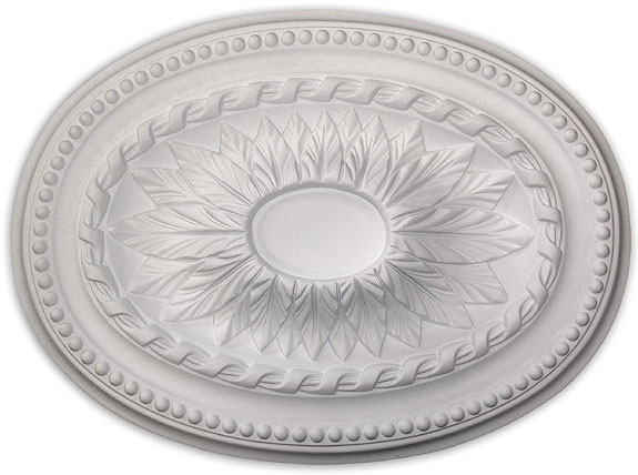Ceiling medallion polyurethane decorative fdcb 2030 for Architectural medallions exterior