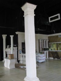 Fluted Column 13 Quot Full Square Set Fdc6071