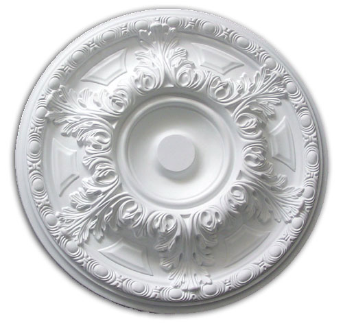Ceiling medallion polyurethane decorative fdc 3033 for Architectural medallions exterior