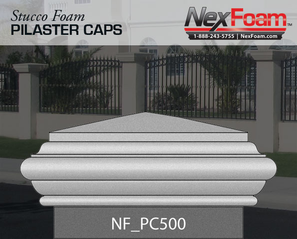 Post Cap Pillaster Cap Pc 500