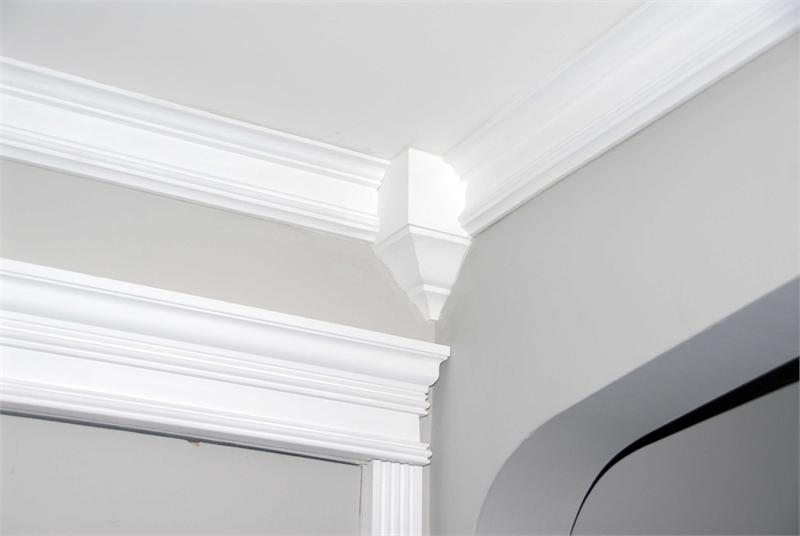 Crown Moulding Polyurethane Decorative Fdc 1040