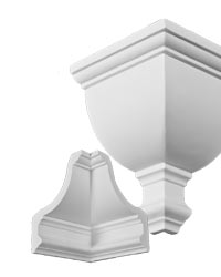 Crown Moulding Polyurethane Decorative Corner Fdc 1118