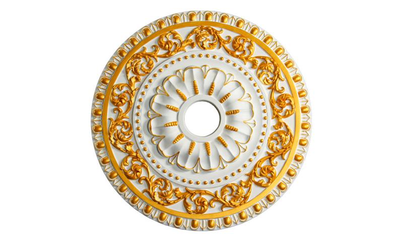 Ceiling Medallion Polyurethane Decorative Fdcb 3011 Gold