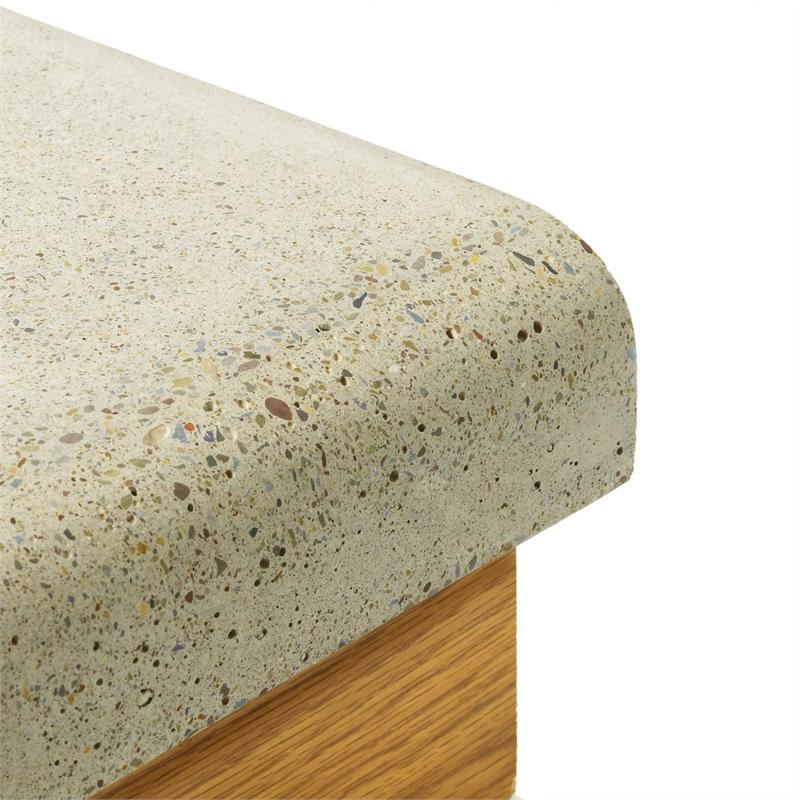 Counter top form quarter bullnose qb001 for Lineal foot counter