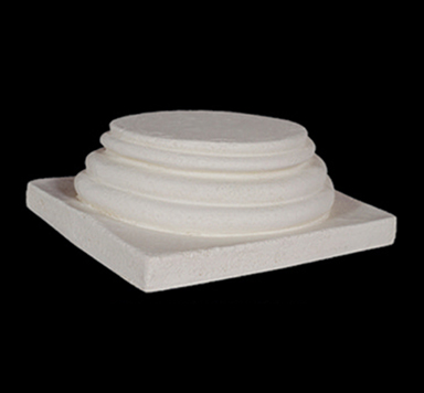 Polyurethane Decorative 8 Quot Column 3 Ring Top Or Base Fdc 1540
