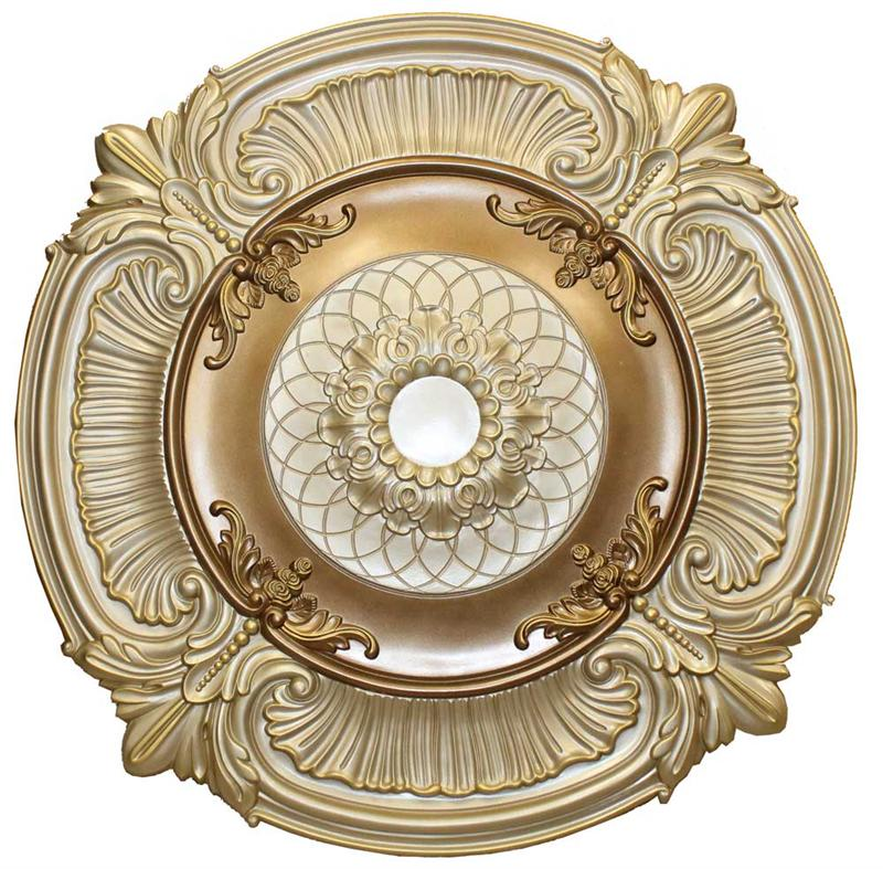 Ceiling Medallion Polyurethane Decorative Fdcu 9023