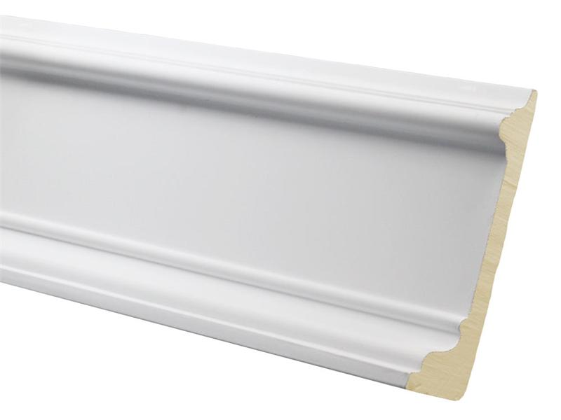 Polyurethane Decorative Base Board Molding Fdc 9789
