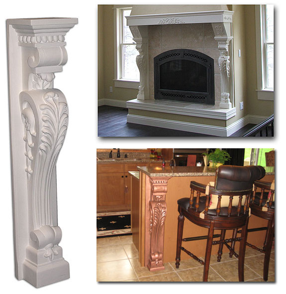 Pilaster Corbel Fireplace Leg Fdcb 1003