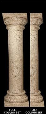 Column Coral Shaft With Stone Hightop Top Amp Base Fdc 1130
